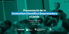 Presentació Comunitat Científica Lleida
